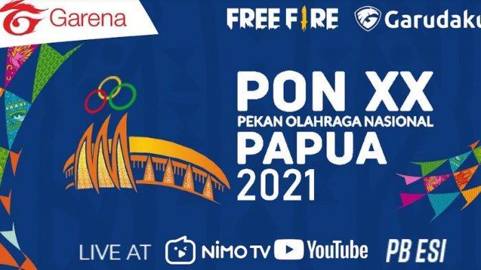 Daftar Lengkap Tim Peserta Cabor Esport Free Fire (FF) PON XX Papua 2021, Ini Jadwal Pertandingan