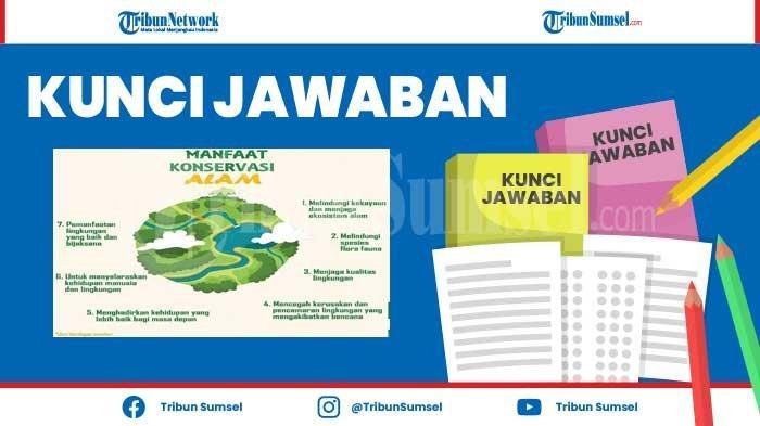 Peta Pikiran Manfaat Konservasi Alam, Kunci Jawaban Tema 8 Kelas 6 SD Halaman 73 Pembelajaran 3