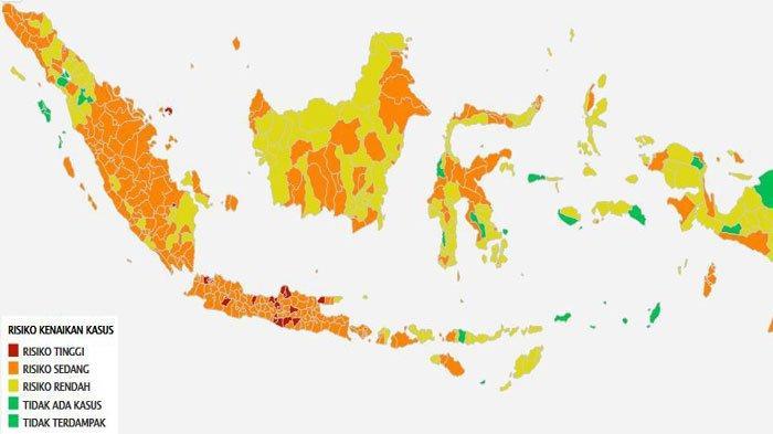Penambahan Covid-19 Hari Ini, 28 Juni 2021, Jakarta Masih Tertinggi, Ini Sebaran Tiap Provinsi