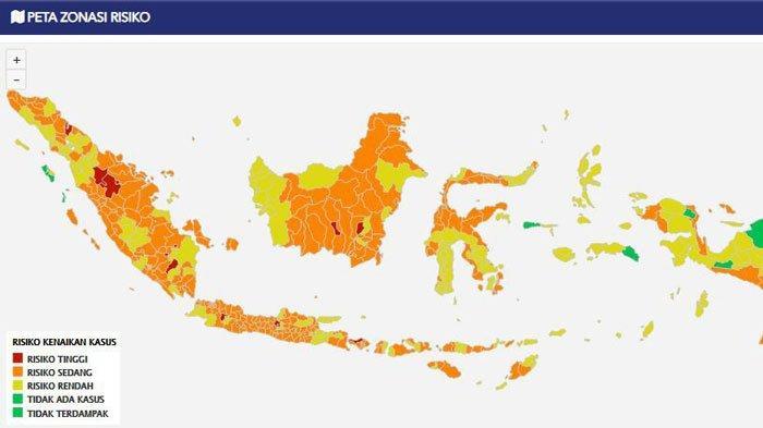 Prabumulih Susul Palembang dan OKU Timur Jadi Zona Merah Covid-19