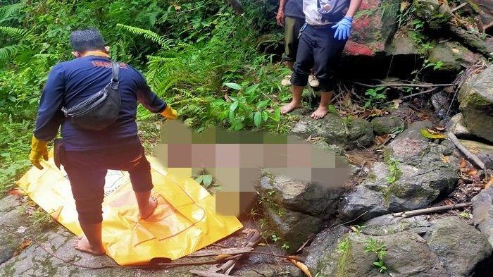 Tak Pulang 4 Hari, Petani di Lahat Ditemukan Wafat di Bebatuan Curup Desa Padang Gumay