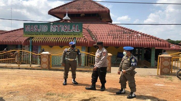 Polsek Pemulutan Amankan Masjid Istiqlal, Lokasi Kunjungan Gubernur Sumatera Selatan