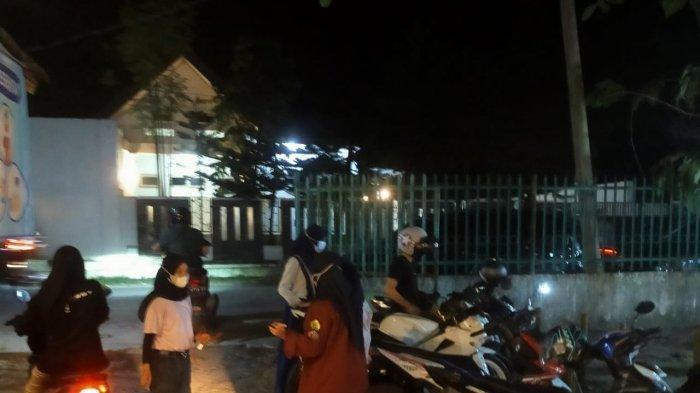 Langgar Protokol Kesehatan, Polisi Bubarkan Kerumunan Kafe di Indralaya Ogan Ilir