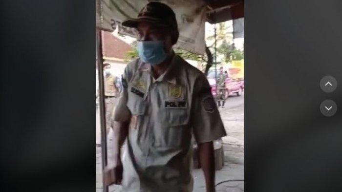 Inilah Video Sebenarnya Satpol PP Minta Tukang Tambal Ban Layani Secara Online, Sebelumnya Dipotong