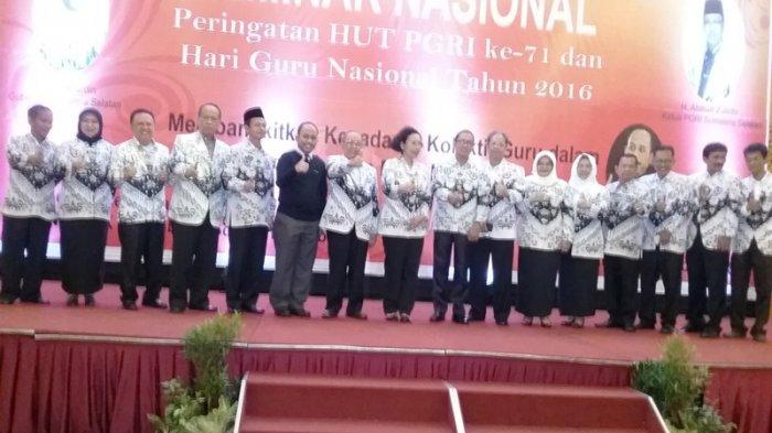 PGRI Provinsi Sumsel Laksanakan Seminar Nasional