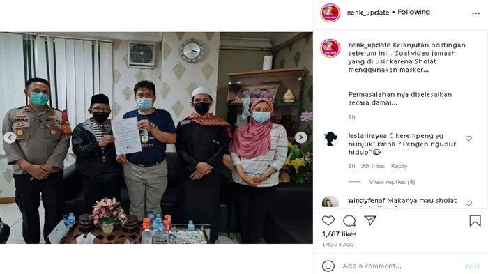 Pihak pengurus Masjid akhirnya berdamai dengan warga, heboh pengusiran warga lantaran pakai masker