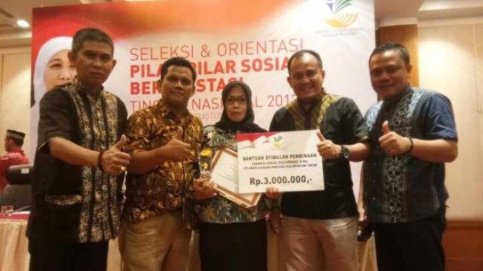 Ikatan Pekerja Sosial Masyarakat OKI Wakili Sumsel Juara II Nasional Pilar Berprestasi