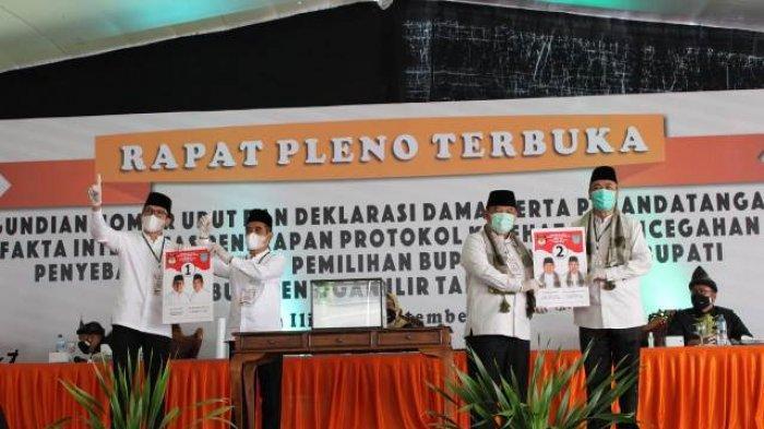 Ilyas-Endang 'PD' Pimpin 2 Periode, Panca-Ardani Yakin Menang, Nomor Urut Paslon Pilkada Ogan Ilir