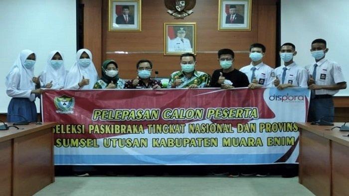Muaraenim Kirim Enam Perwakilan Paskibraka Seleksi Tingkat Provinsi dan Nasional