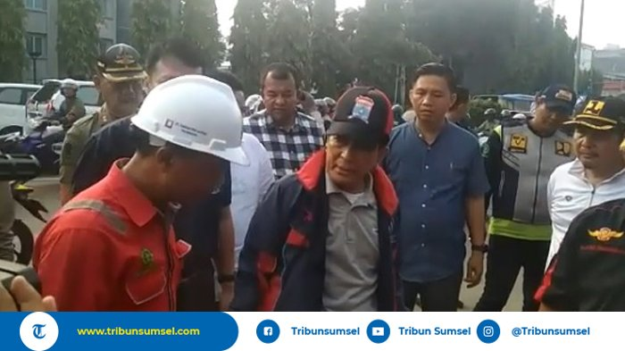 Pjs Walikota Palembang Akhmad Najib Stop Penggalian Tak Berizin