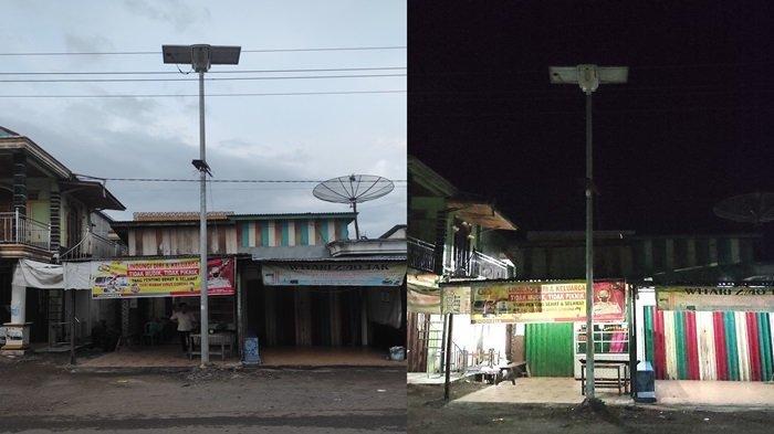 Banyak Lampu Penerangan Jalan Umum di Empat Lawang Mati, Ada yang Tersisa Tiangnya Saja