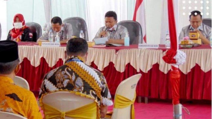 Jumlah DPT Pilkada di Musi Rawas Turun Dibandingkan Jumlah Pemilih Pileg dan Pilpres