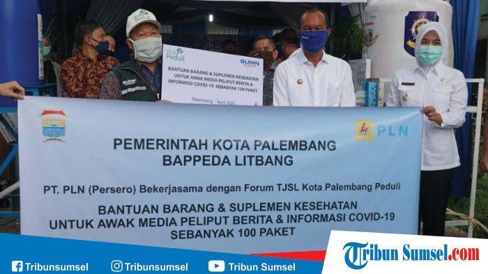 PLN S2JB Berikan Bantuan Suplemen Kesehatan untuk Peliput Berita COVID-19