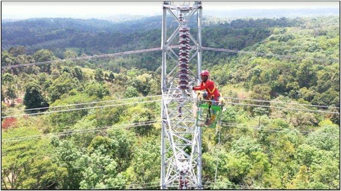 Perkuat Listrik Sumatera, PLN Operasikan SUTT 150 kV Rantau Dadap-Lumut Balai