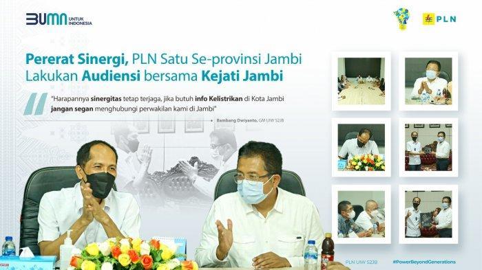Pererat Sinergi, PLN Satu Se-Provinsi Jambi Audiensi Bersama Kejati Jambi