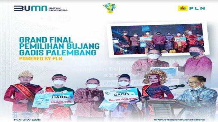 Grand Final Bujang Gadis Palembang 2021 Powered by PLN, Kenalkan Electrifying Lifestyle