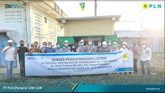 UP2K Sumsel-UIP Sumbagsel Listriki Desa Mandhira Industri Captive Power, Hemat Rp 2,1 M per Bulan