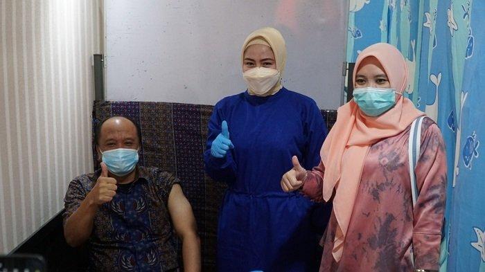 Perdana, BUMN Pertama Kali Laksanakan Vaksinisasi Massal Covid 19 di Kota Palembang