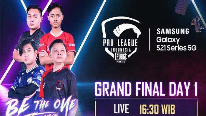LIVE Sedang Berlangsung, Babak Grand Final PMPL PUBG Mobile Pro League Indonesia Season 3