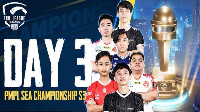 Link Live Streaming PMPL SEA Championship 2021 Hari ke-3 Petrandingan Terakhir Untuk Jadi Juara