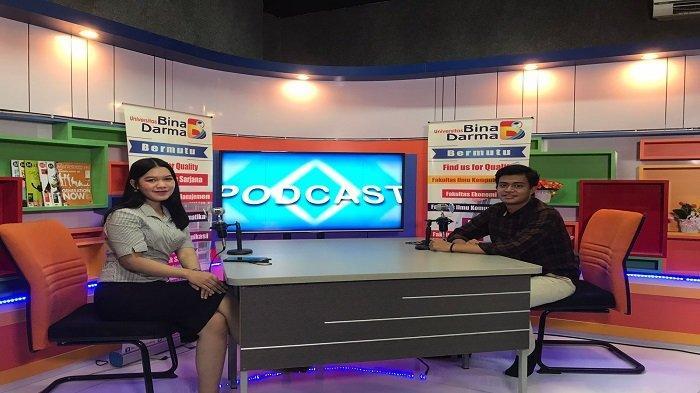 Universitas Binadarma Palembang Gelar Podcast Riset & Inovasi