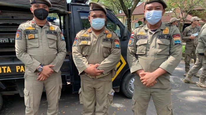 Selamatkan Polantas Palembang dari Serangan OTD, 3 Anggota Satpol PP Palembang Diberi Penghargaan