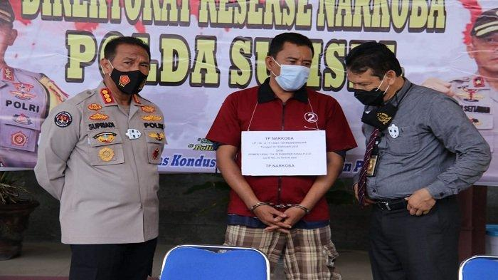 Kedapatan Bawa Sabu 25 Kg, Taufik Hidayat Ditangkap Polda Sumsel