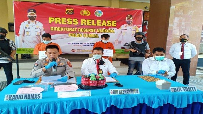 Hendak Masuk ke Palembang, Sabu Seberat 3 Kg dari Padang Digagalkan Polda Sumsel