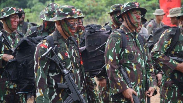 Polda Sumsel Gelar Latihan Perang Hutan, Tingkatkan Kemampuan Perorangan dan Tim