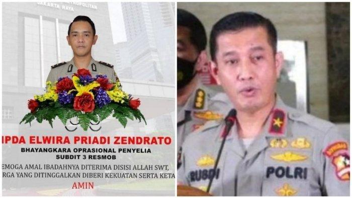 Sosok Terduga Penembak Laskar FPI Elwira Priadi Zendrato Tewas Kecelakaan Motor