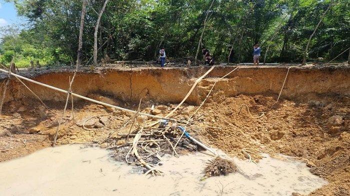 Tambang Emas Ilegal Bikin Sungai Keruh di Muratara Masih Ada, Polisi Turun Lagi