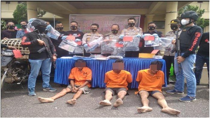 Triwulan Pertama 2021, Polres Ogan Ilir Ungkap 3 Kasus Pembunuhan Sadis, 5 Tersangka Dipenjara