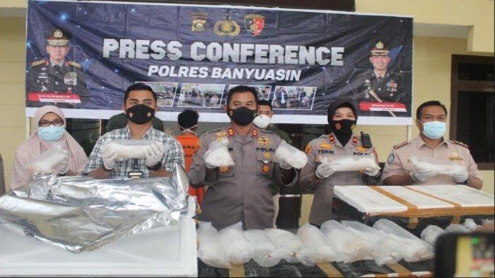 Polres Banyuasin Gagalkan Penyelundupan 86.900 Benih Lobster, Siap Kirim dari Bengkulu ke Vietnam