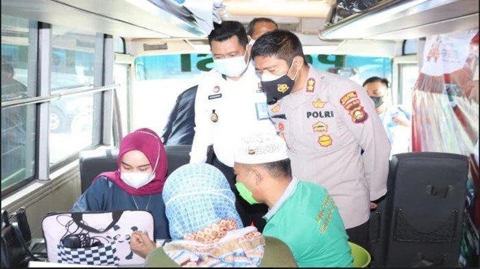 Polres-Lapas Kelas IIB Muara Enim Suntik Vaksin 100 Warga Binaan