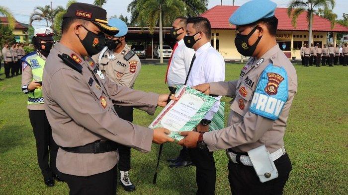 28 Personil Polres Musi Rawas Terima Penghargaan, Berikut Nama-namanya