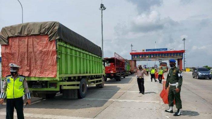 Polres Ogan Ilir Amankan Jalur Kunjungan Menhub RI Via Gerbang Tol Kramasan
