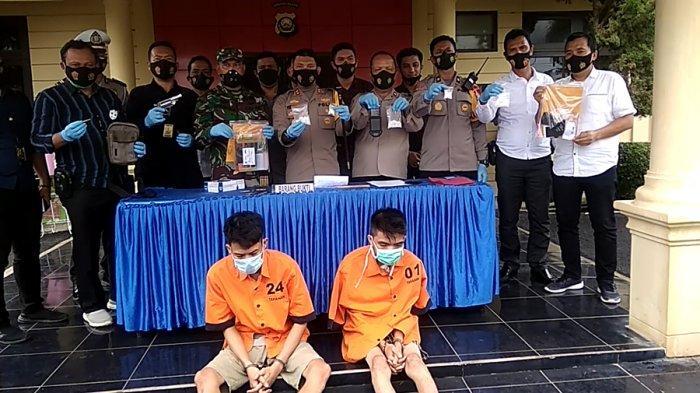 Januari 2021, Polres Ogan Ilir Amankan Dua Senpira 34 Butir Peluru dan 161 Gram Sabu