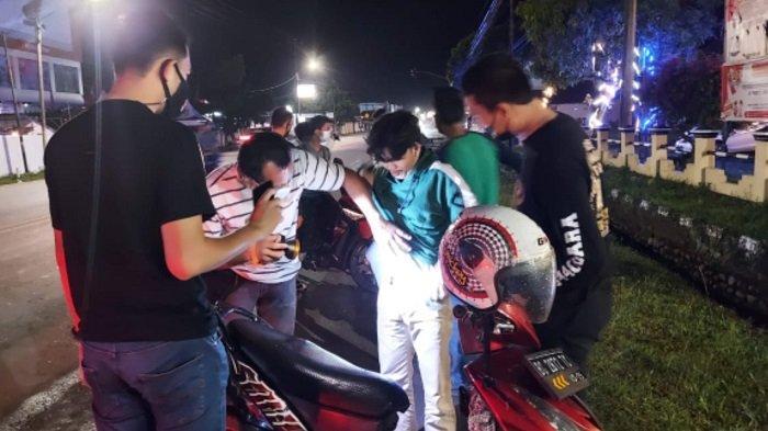 Polres Ogan Ilir Gelar KRYD di Jalinsum Indralaya Antisipasi Tindak Kejahatan