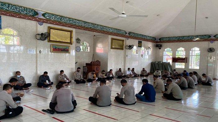 Polres Ogan Ilir Gelar Doa Bersama Tahun Baru Islam 1 Muharram 1443 Hijriah