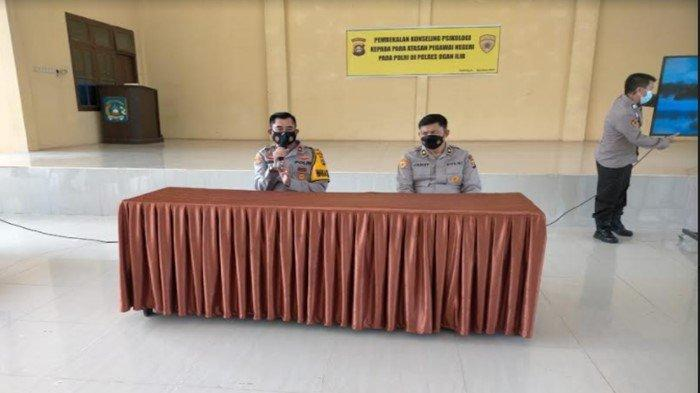 Polres OI Adakan Pembekalan Konseling Psikologi Kepada Atasan Pegawai Negeri pada Polri