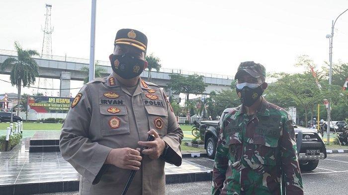 Polrestabes Palembang Kerahkan 1386 Personil Gabungan Pengamanan Hari Raya Idul Adha