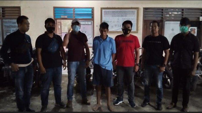 Unit Reskrim Polsek Indralaya Amankan Pelaku Penganiayaan di Desa Tanjung Agung