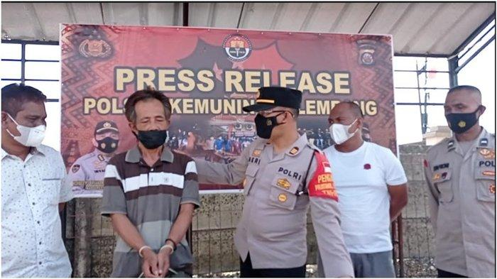Rebutan Lahan Jaga Proyek Retensi, 2 Pria Kakak Adik di Palembang Bacok Tetangga, Korban Luka Serius