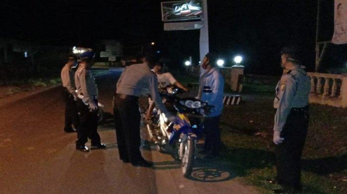 Malam Takbiran Polsek Tanjung Batu Gelar Operasi Yustisi dan Antisipasi Kerumunan