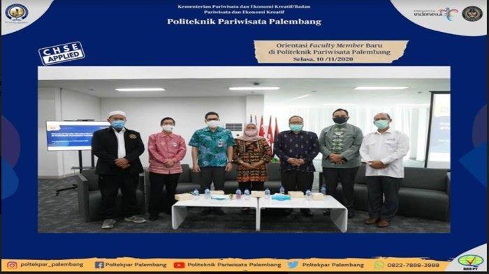 Gelar Orientasi Faculty Member, Poltekpar Palembang Perkenalkan Dosen Baru