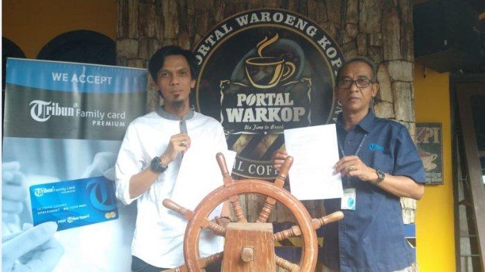 Member Tribun Family Card (TFC) Gratis Minum Kopi 24 Kali Setahun di Portal Waroeng Kopi Palembang