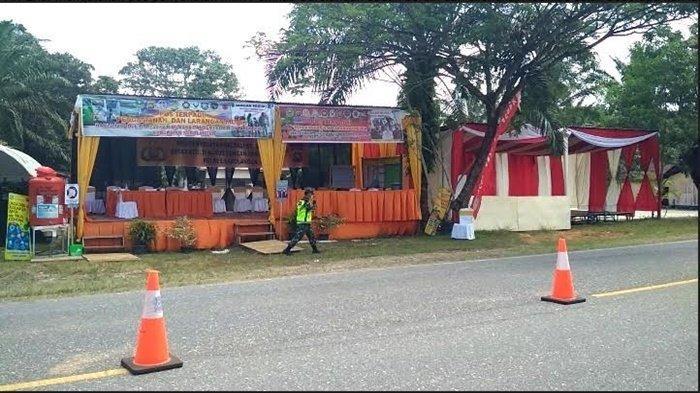 Pos Penyekatan Pemudik Berdampingan, Sarolangun Jambi Sudah Siap, Muratara Sumsel Belum
