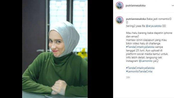 Postingan baru Putri Anne ganti caption dan matikan kolom komentar