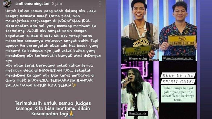 Postingan terbaru Eky alias Muhammad Rizky finalis Indonesian Idol