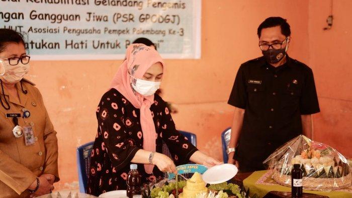 Ultah ke-3 Asosiasi Pengusaha Pempek Palembang, Gelar Bakti Sosial